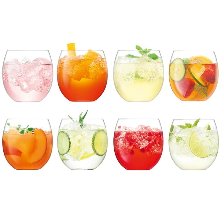 Balloon Tumbler Set of 8, 450ml