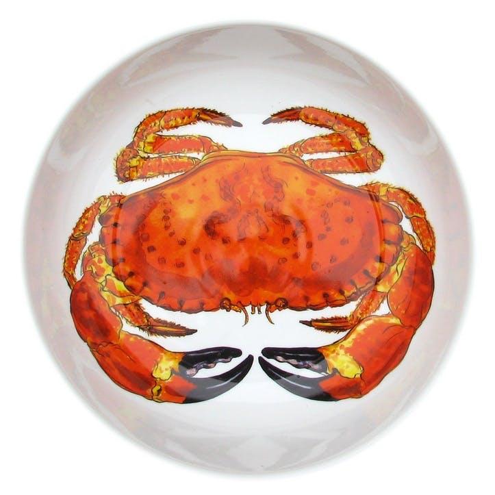 Crab Round Bowl - 24cm