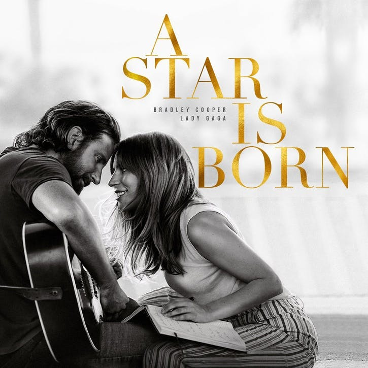 "A Star Is Born Soundtrack 12"" Vinyl"