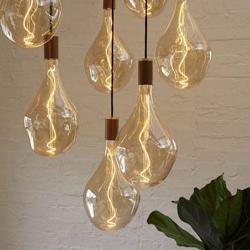 Voronoi III Tinted Bulb LED 5W 2200K E27 H40 x W20cm Clear
