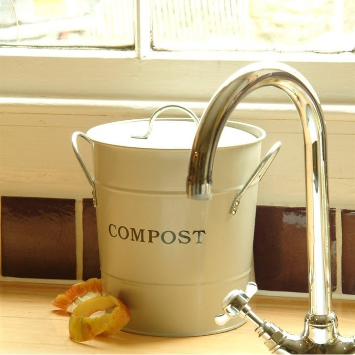 Clay Compost Bucket