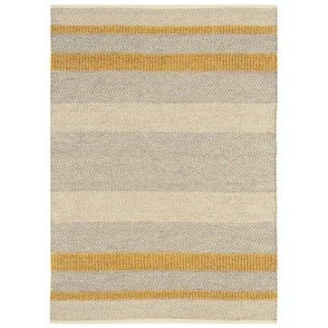 Fields Rug - 1.6 x 2.3m; Mustard