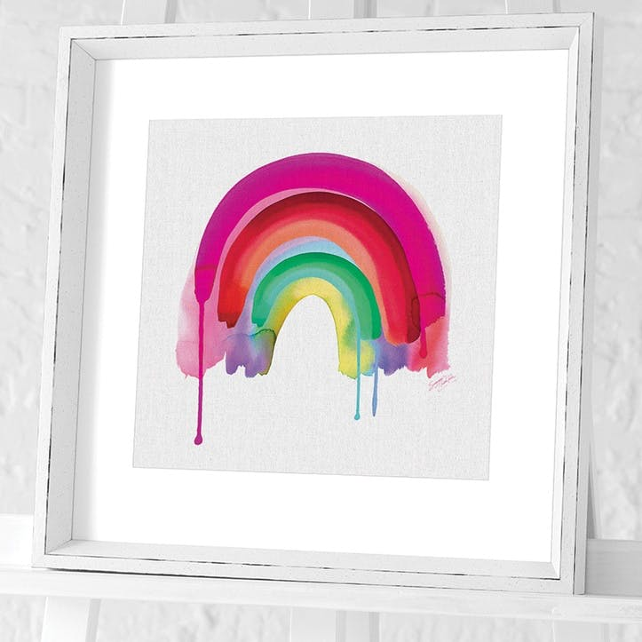 Summer Thornton Rainbow Framed Print, 45 x 45cm