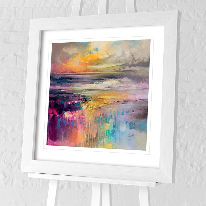 Scott Naismith Liquid Reflections Framed Print, 76 x 76cm