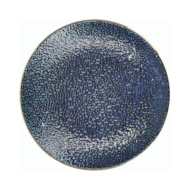Satori Side Plate, Indigo Blue