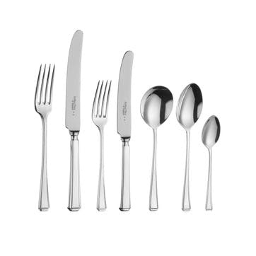 Harley Sovereign Silver Plated Cutlery Canteen Set - 84 Piece