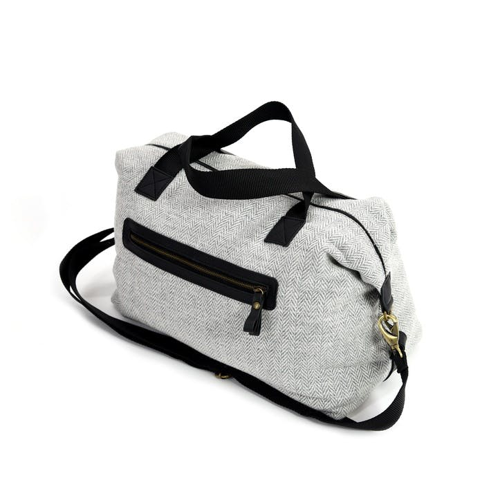 Weekend Bag; Silver