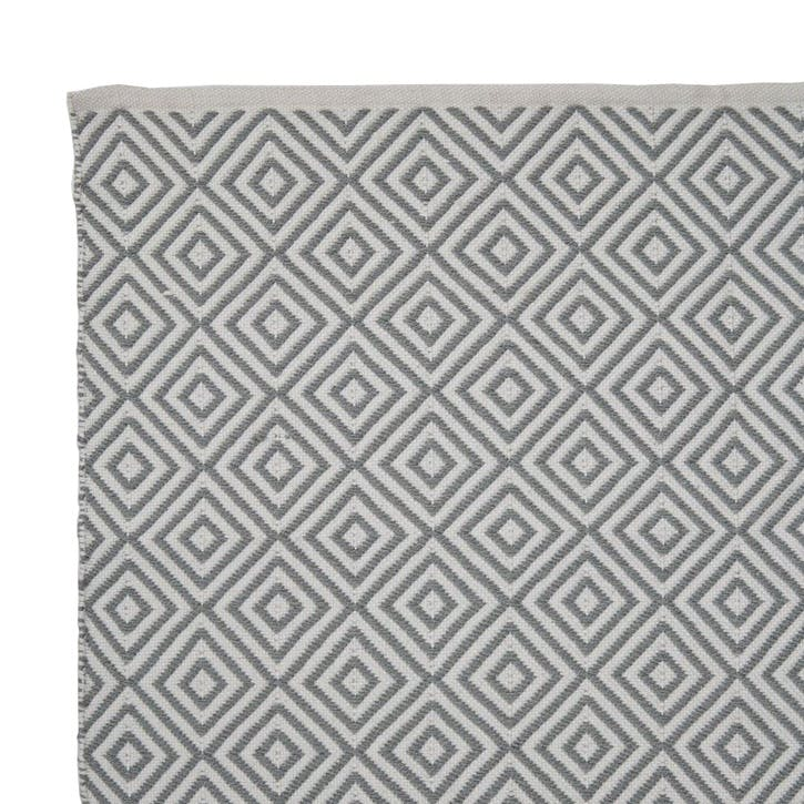 Oslo Runner Rug, 240 x 70cm, Dove Grey