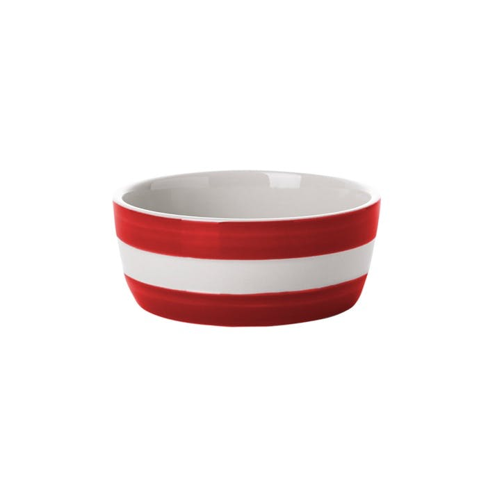 Set of 4 Dip Dishes - 10cm; Red