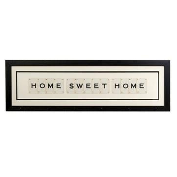 'Home Sweet Home' Word Frame