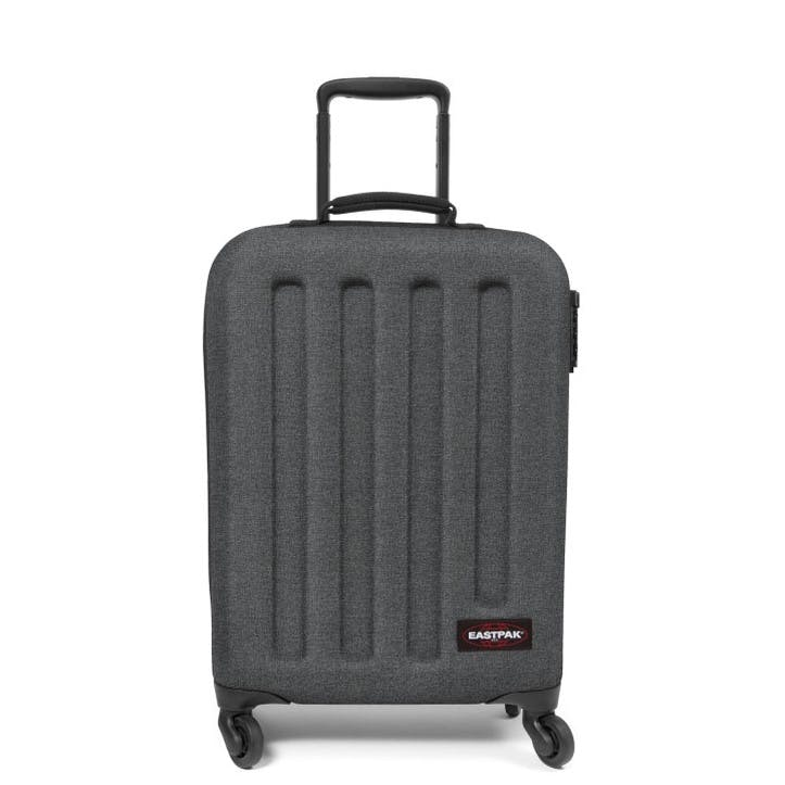 Tranzshell Suitcase - Small; Black Denim
