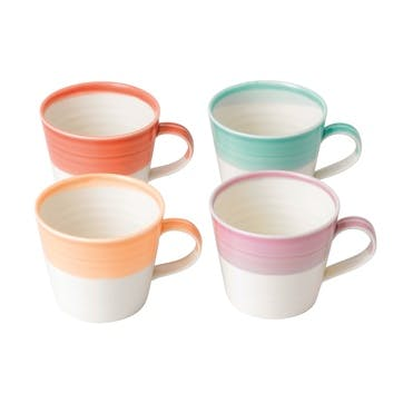 1815 Brights Mug, Set of 4, Small