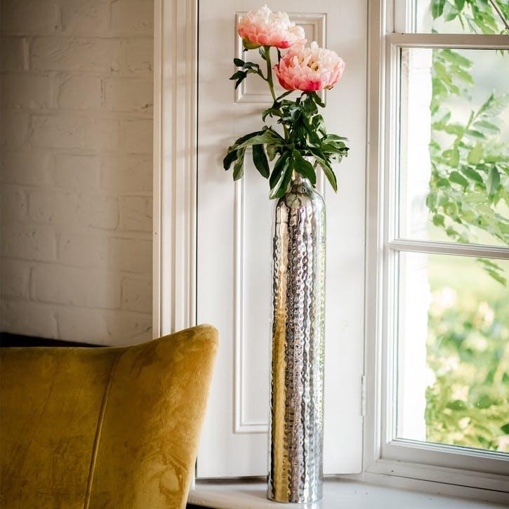 Silver Tulip Vase - Large