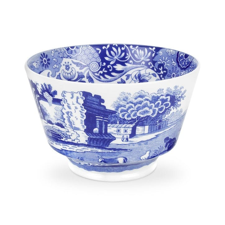 Blue Italian Sugar Bowl