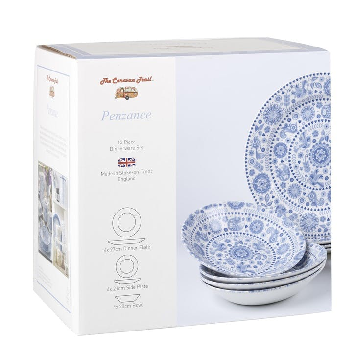 Penzance 12 Piece Dinnerware Set