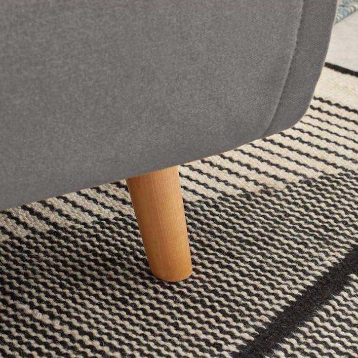 Haru Sofa Bed - Double; Marshmallow Grey
