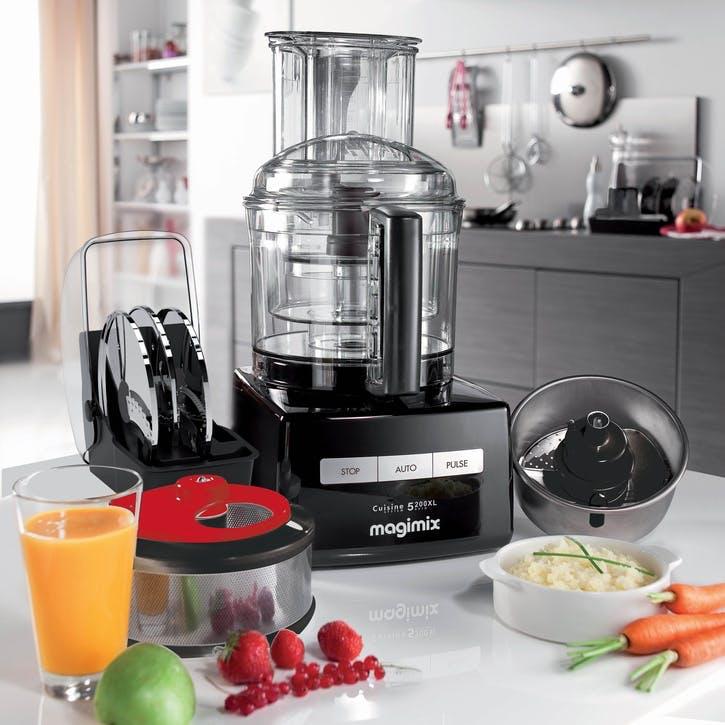 CS 5200XL Premium Food Processor; Black
