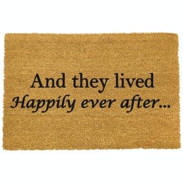 Happily Ever After Doormat