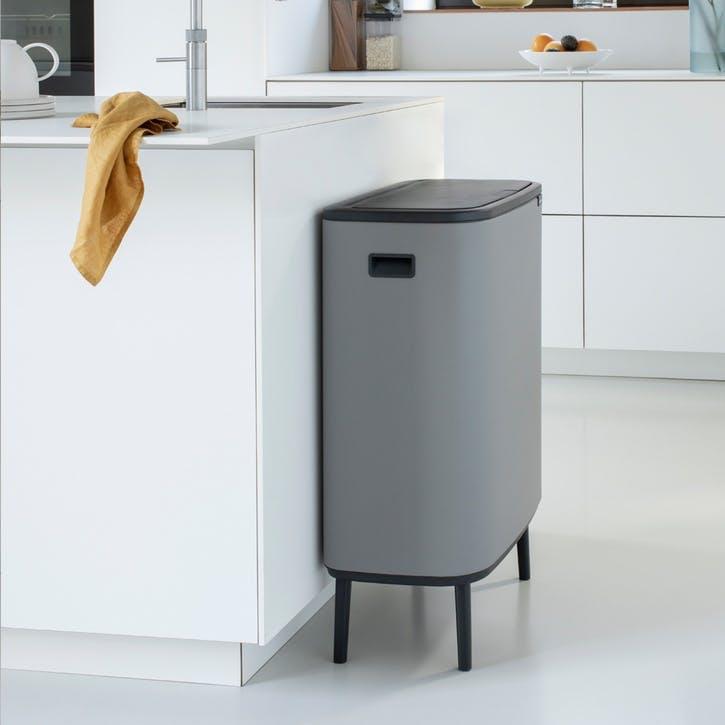 Bo Hi Bin, 60L, Mineral Concrete Grey