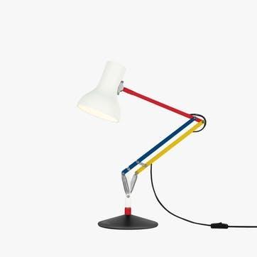 Type 75 Paul Smith Edition 3 Mini Desk Lamp, Multicolours and White