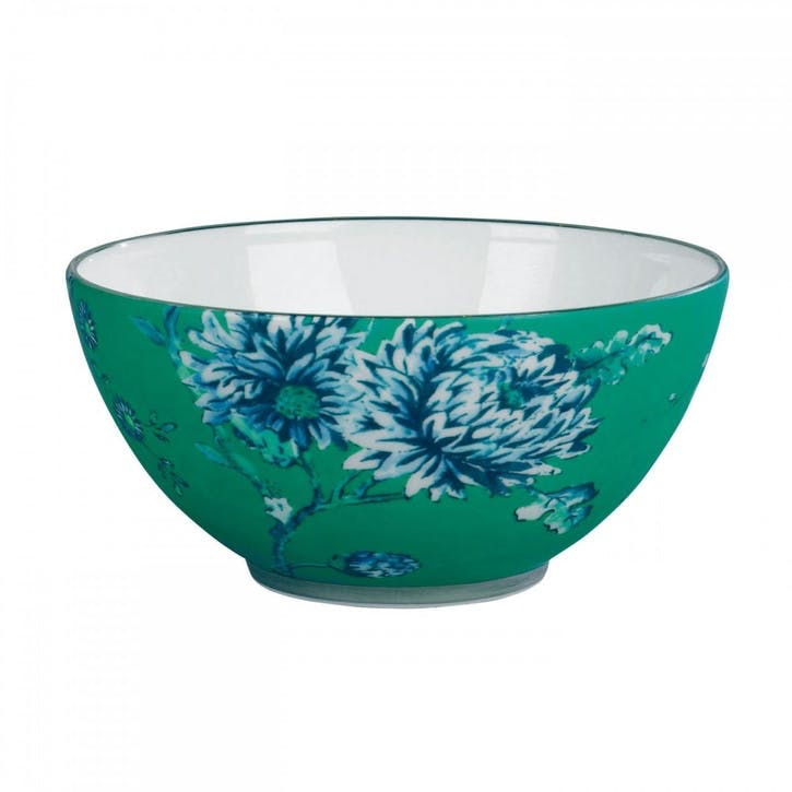 Chinoiserie Nibbles Bowl, Green