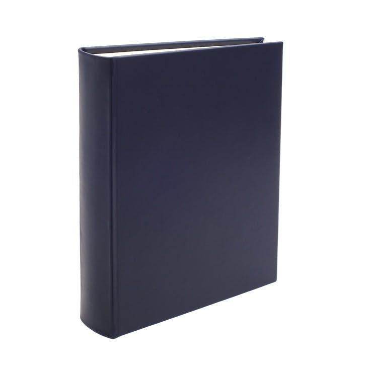 Chelsea Portrait Leather Photo Album, Sapphire