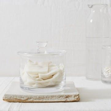 Glass Storage Jar, Small
