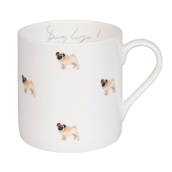 'Pug Life' Mug - Large