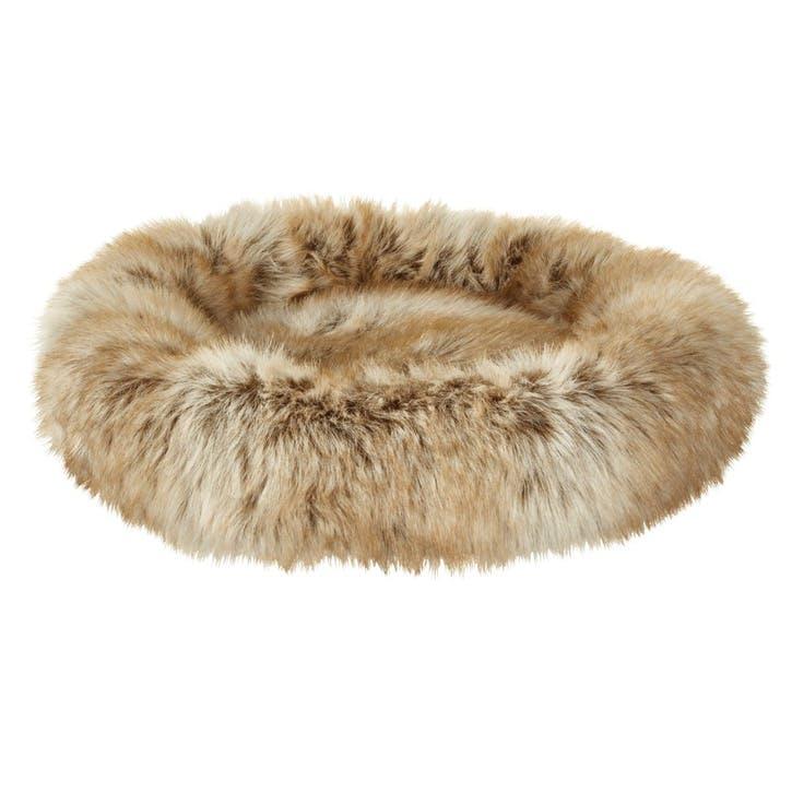 Arctic Fox Mini Round Pet Bed