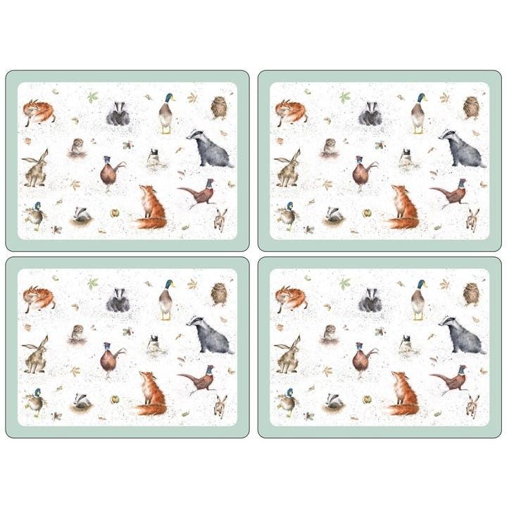 Wrendale Placemats, Set of 4