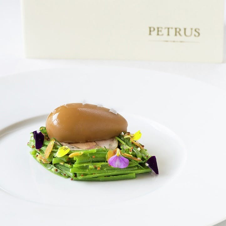 Four Course Michelin Star Lunch for Two at Gordon Ramsay's Pétrus