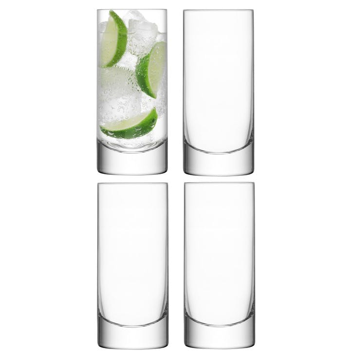 LSA Bar Highball, 420ml, Set of 4