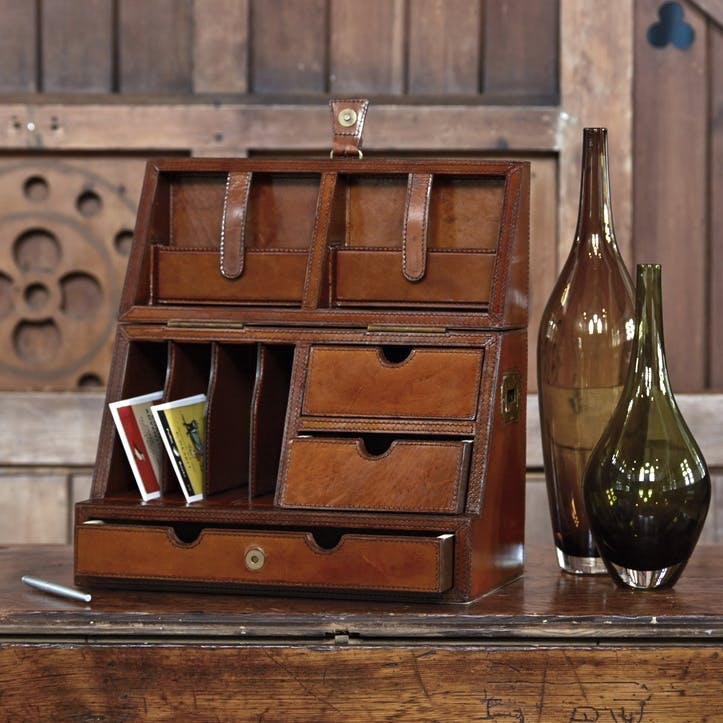 Leather Stationery Box