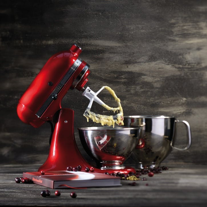 Artisan Stand Mixer with FREE Glass Mixing Bowl, 4.8L, Empire Red
