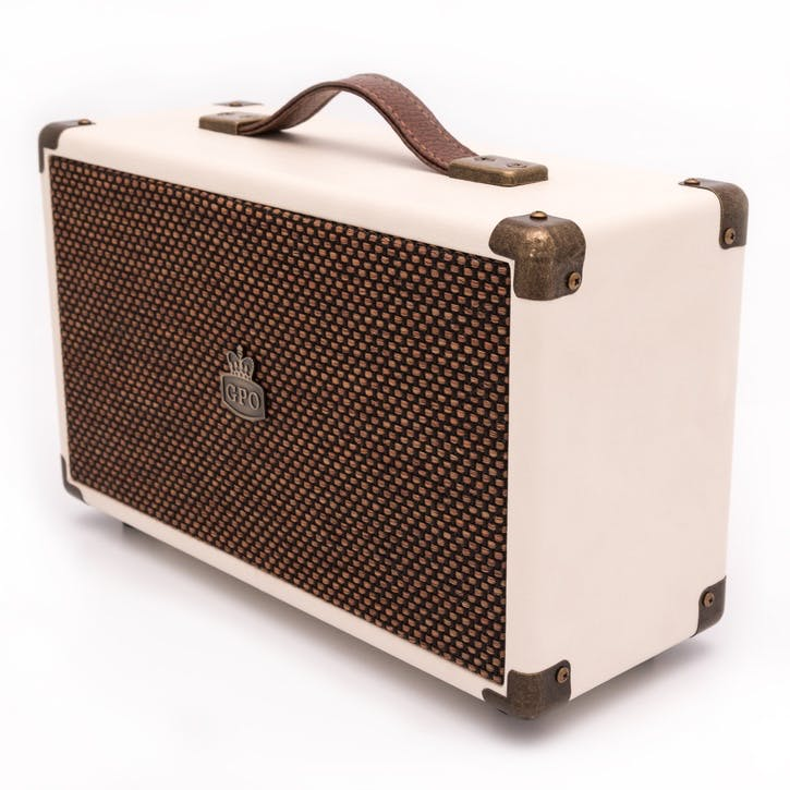 Westwood Speaker; Cream & Tan