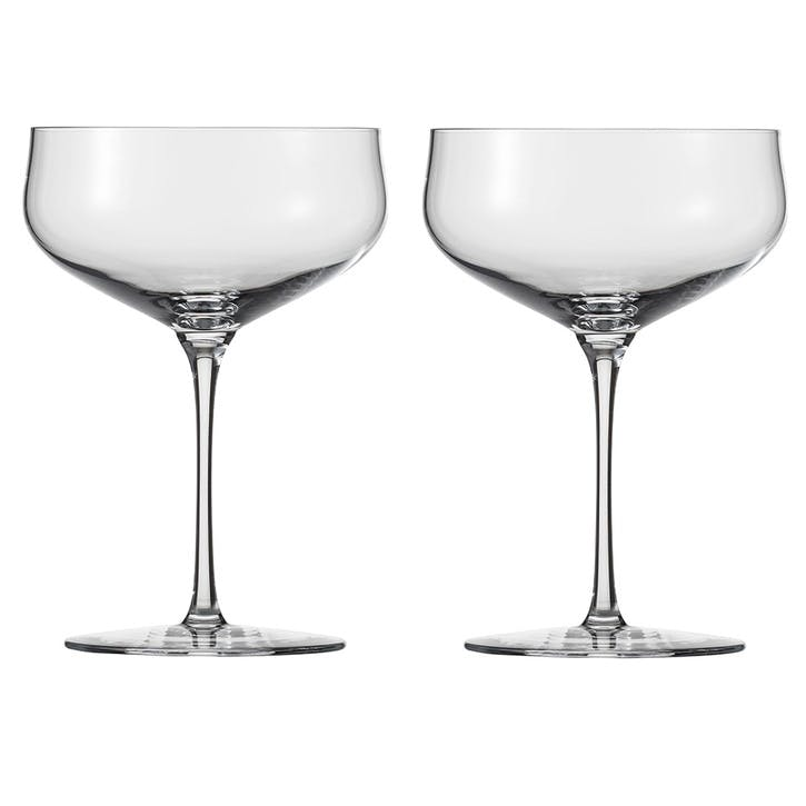 Air Champagne Saucers, Set of 2