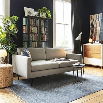 2 Seater Sofa, Model 01, Shadow