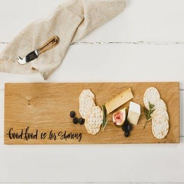 """Good Food is for Sharing"" Serving Platter"