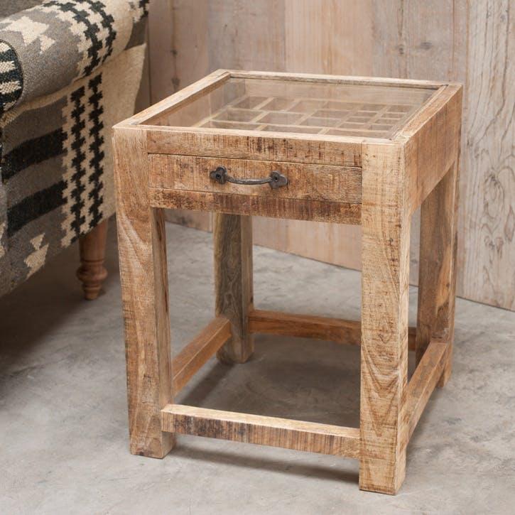 Tansa Printer Drawer Side Table