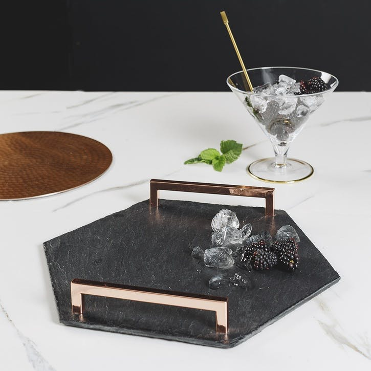 Hexagonal Serving Tray