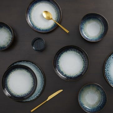 Niva 12 piece dinner set, H83 x W217 x D90cm, Midnight ombre