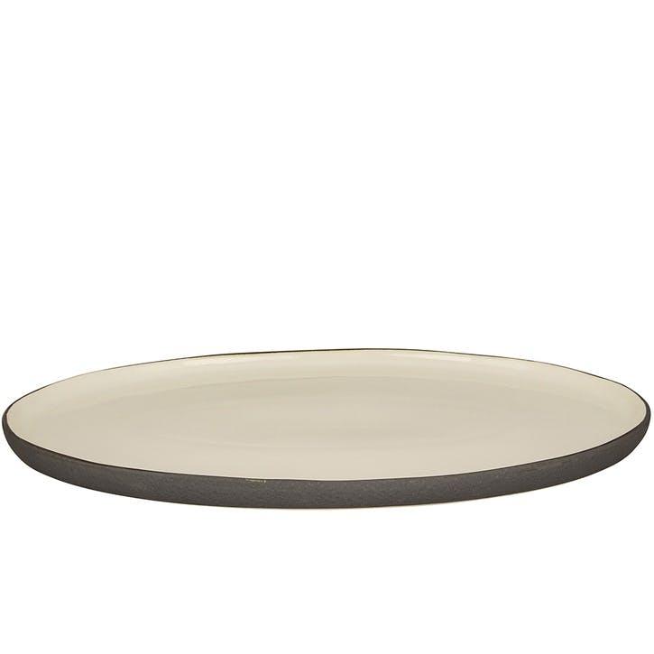 Esrum Large Oval Plate