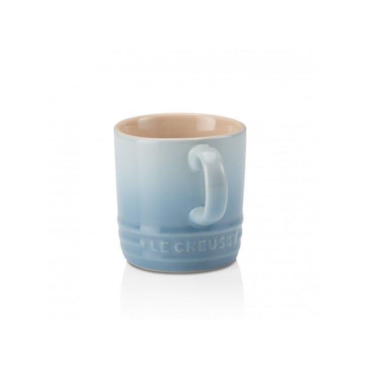 Stoneware Espresso Mug; Coastal Blue