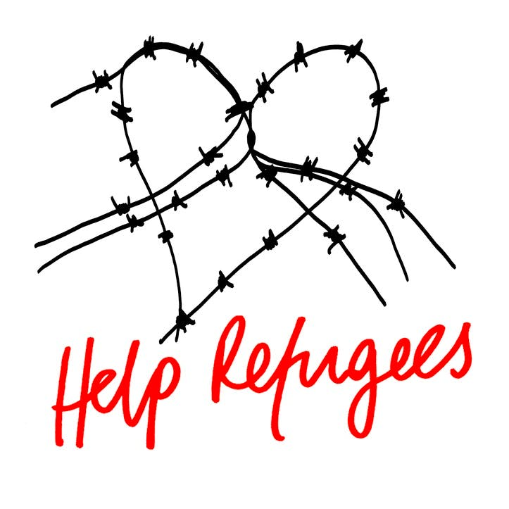 A Donation Towards Help Refugees