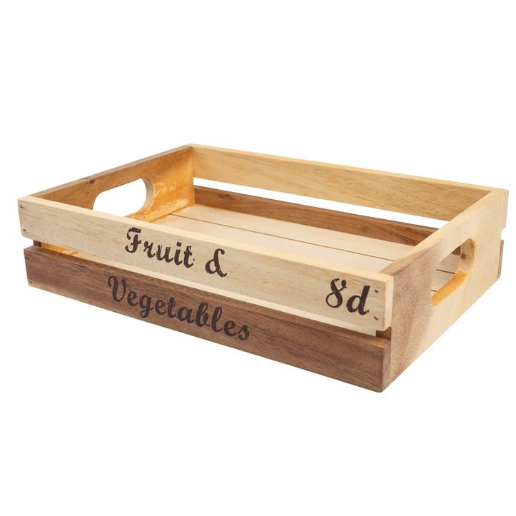 Baroque 'Fruit & Vegetables' Crate