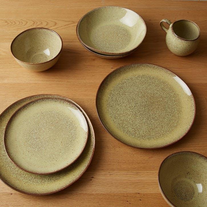 Olmo Dinner Plate, Fennel
