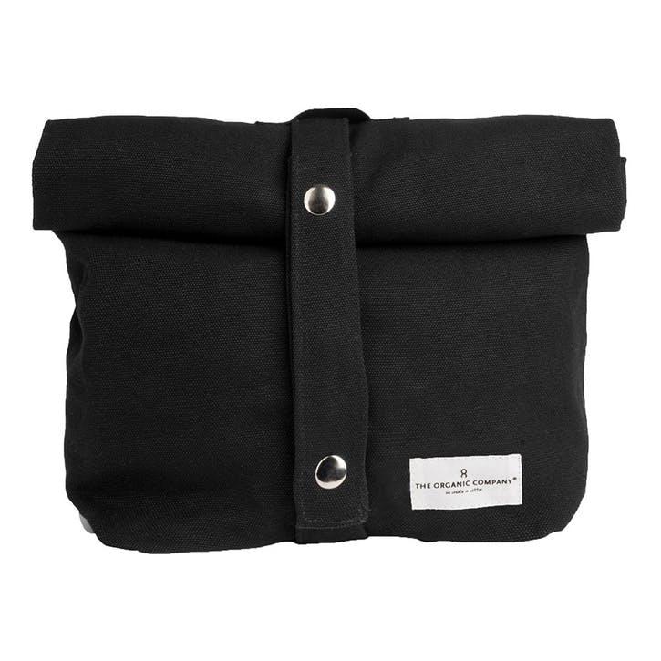 Canvas Lunch Bag, L30 x W39cm, Black