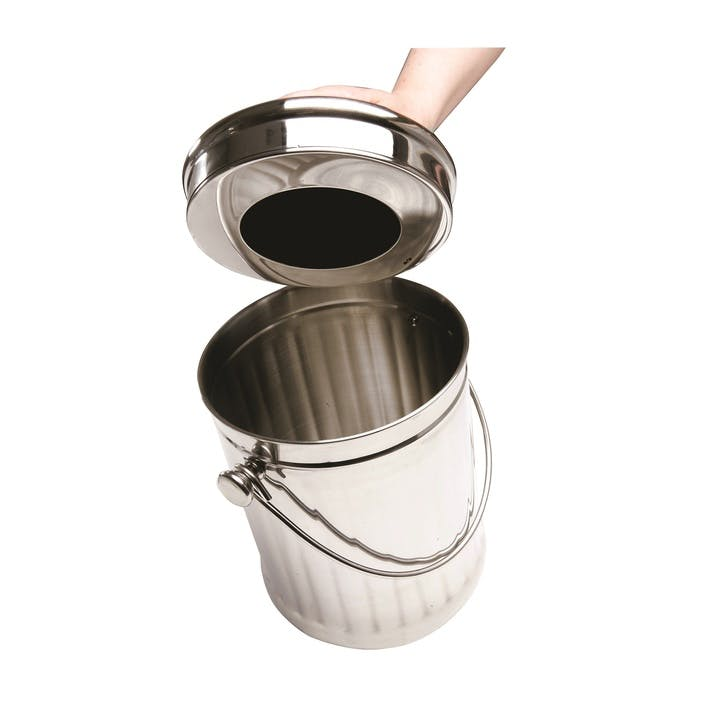 Deluxe Stainless Steel Compost Pail, 4.4l