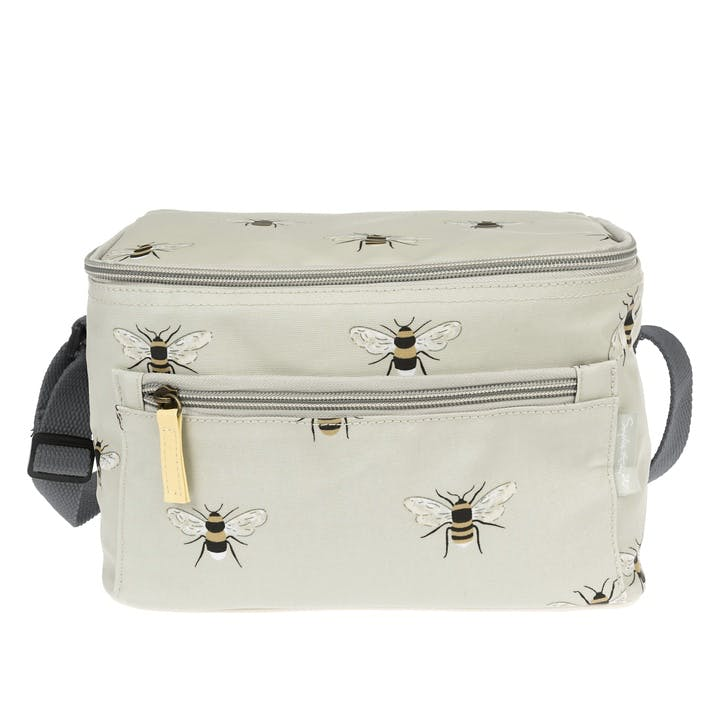 'Bees' Oilcloth Lunch Bag