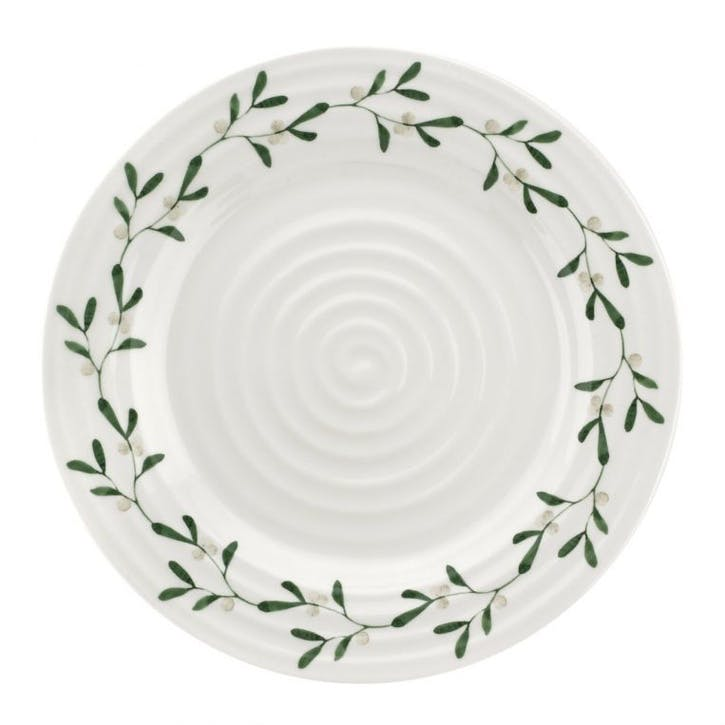 Mistletoe Dinner Plates, Set of 4